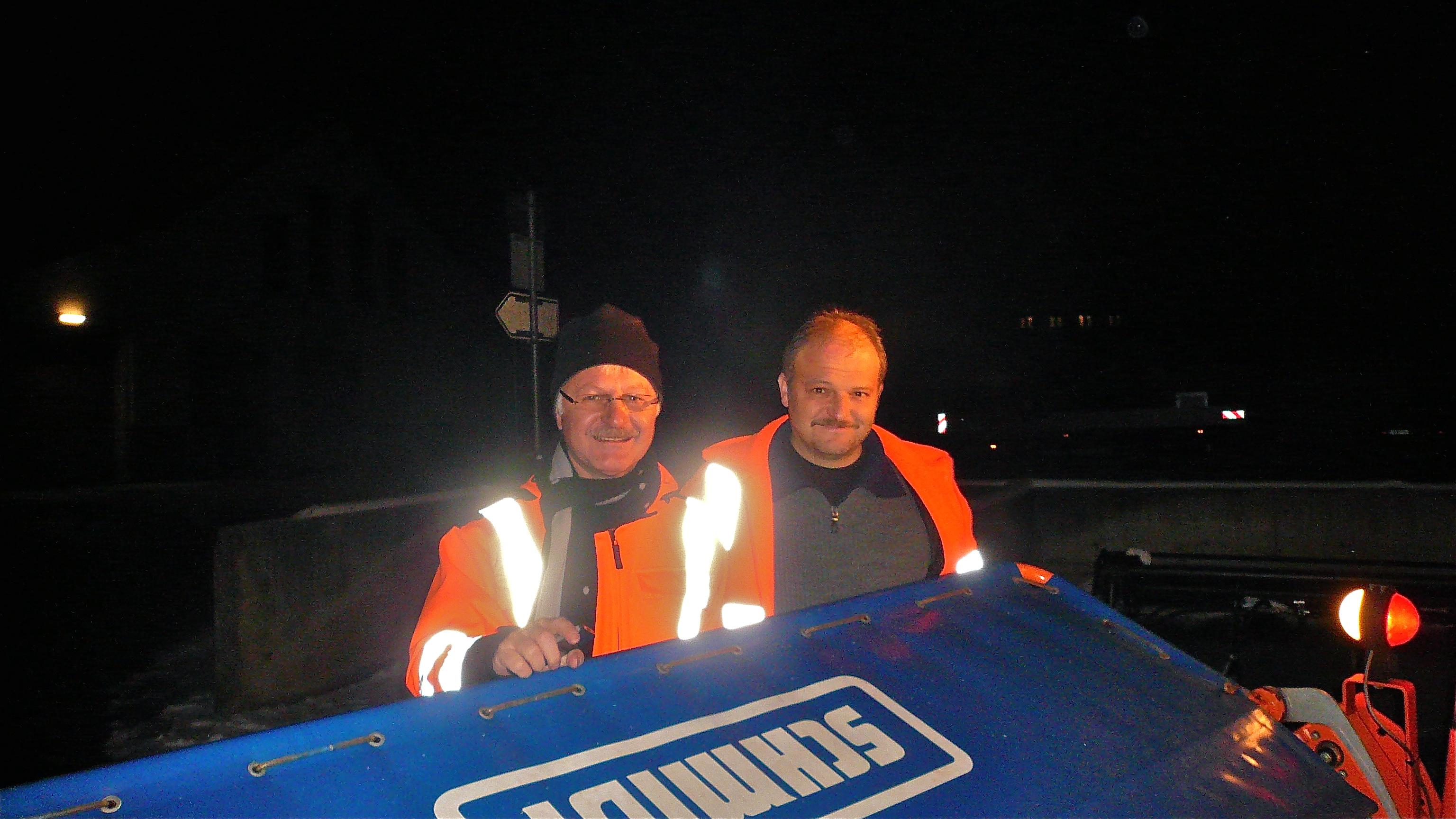 Armin König mit Markus Meiser